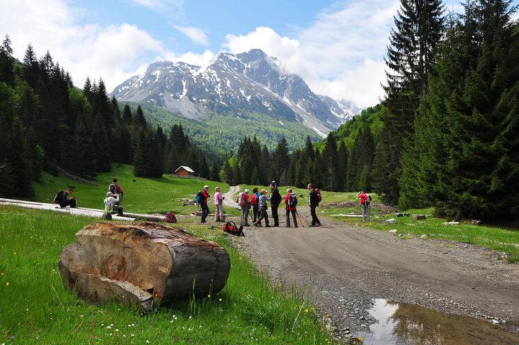 Natur pur in Montenegros Bergen