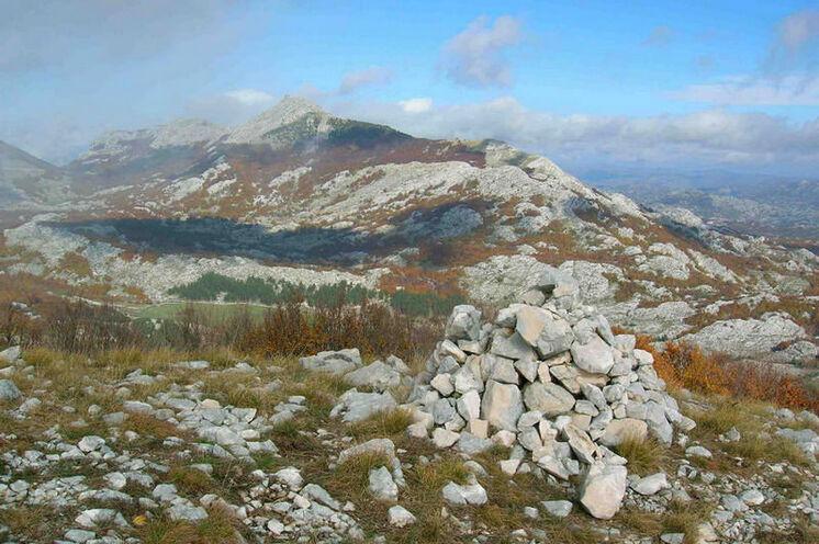 Im Lovcen-Gebirge