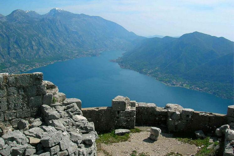 Die Festungsruine Sveti Andrija