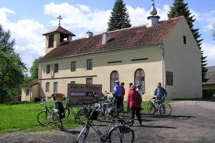 Besuch des Klosters der Philliponen in Wojnowo/Eckertsdorf