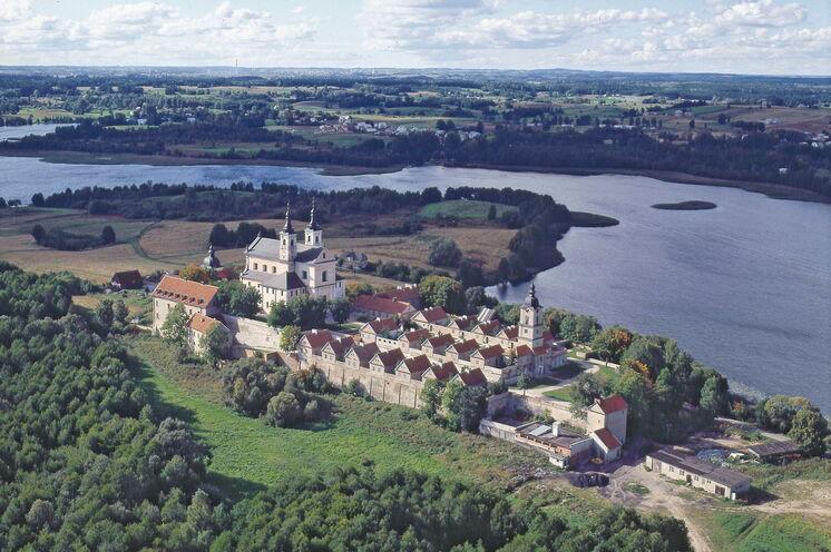 Am 7. Reisetag überfahren Sie die polnische Grenze und radeln am bekannten Kloster Wigry vorbei