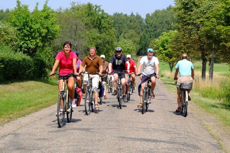 Mit guten Leihfahrrädern radeln Sie durchschnittlich 50 Kilometer pro Tag
