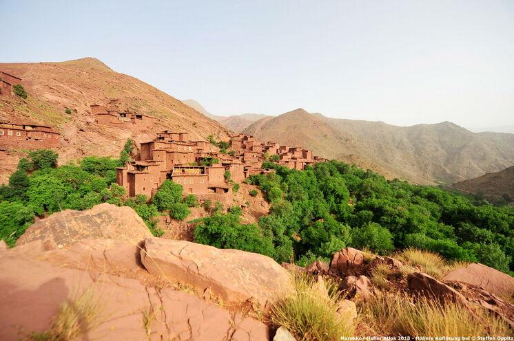 Bergdörfer sind besondere Highlights auf Ihren Wanderungen