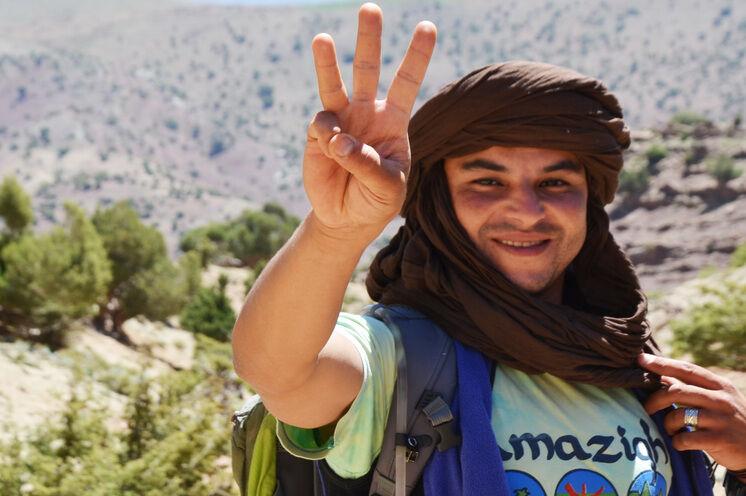 Die freundlichen Guides berichten gern von ihrer Kultur und Geschichte