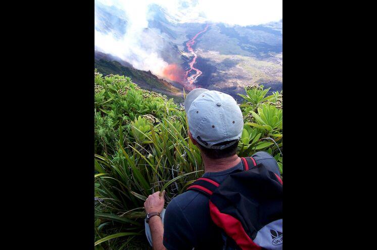 Der Piton des Neiges ist einer der aktivsten Vulkane der Erde
