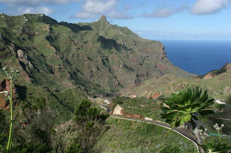 Das Anaga-Gebirge im Nordosten der Insel