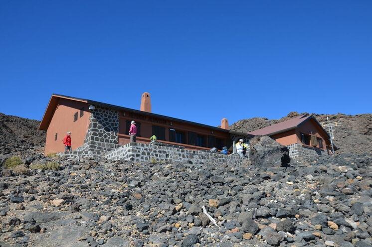Das Refugio Altavista - Ihre Unterkunft bei der Teide-Besteigung