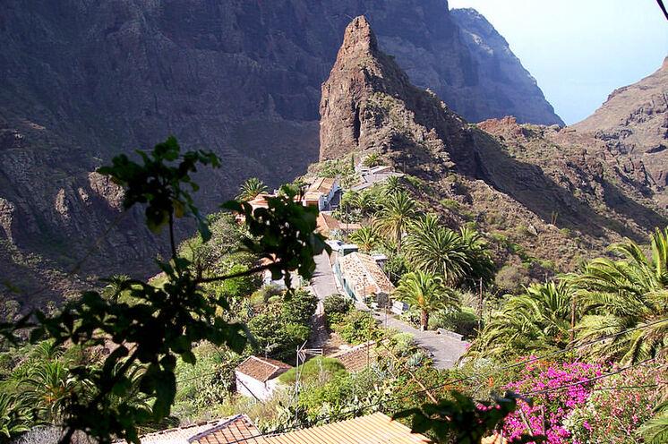 ...und das Dorf Masca - unterwegs in den schönsten Regionen Teneriffas