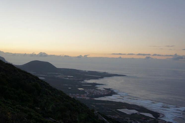 Der Blick über den Atlantik - bereits im Morgengrauen etwas Besonderes