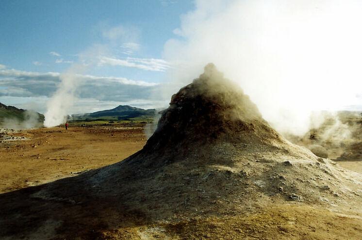 Besonders faszinierend am Mývatn - das Geothermalgebiet bei Námaskarð.
