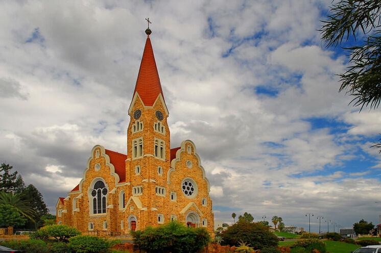 Die Christuskirche von Windhoek.