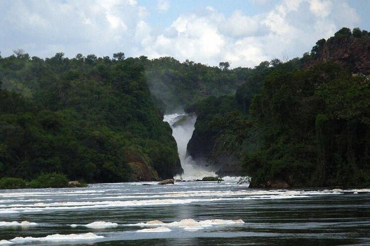 Und der Wasserfall, der dem Nationalpark seinen Namen gibt.