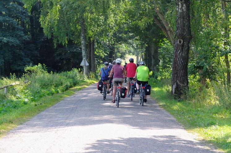 Tagestouren mit dem Rad (34 bis 55 km) inmitten herrlicher Natur