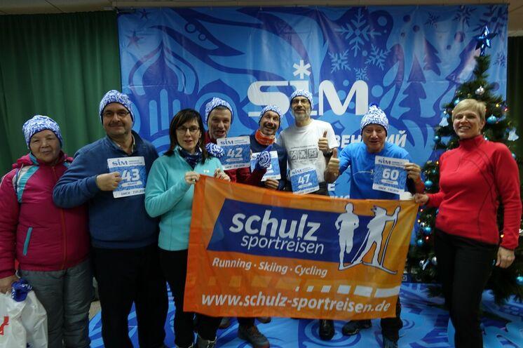 """Beim 10 Jahres Jubiläum 2019 war Frank Schulz wieder mit im Starterfeld (Startnr. 60). Wie bei seiner Laufpremiere 2009 """"nur"""" -9°C... - und somit ideale Laufbedingungen!"""