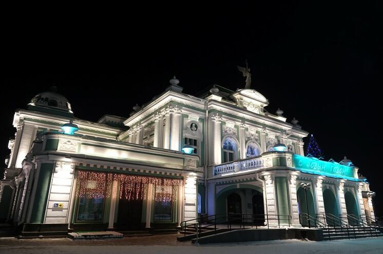 Omsk hat mittlerweile ein äußerst sehenswertes Stadtzentrum.