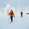 150 km Skitour nördlich des Polarkreises