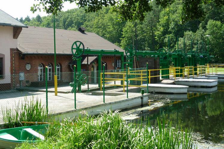 Das alte Wasserwerk arbeitet immer noch und eine Besichtigung ist sehr zu empfehlen!